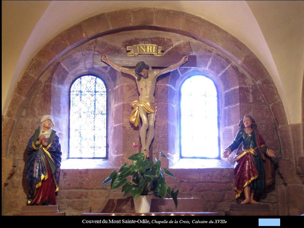Couvent du Mont Sainte-Odile, Chapelle de la Croix, Calvaire du XVIIIe