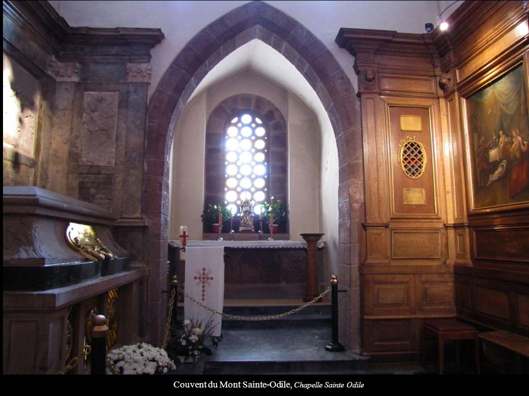 Couvent du Mont Sainte-Odile, Chapelle Sainte Odile