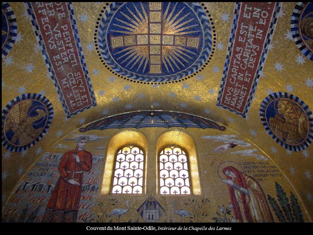 Couvent du Mont Sainte-Odile, Intérieur de la Chapelle des Larmes