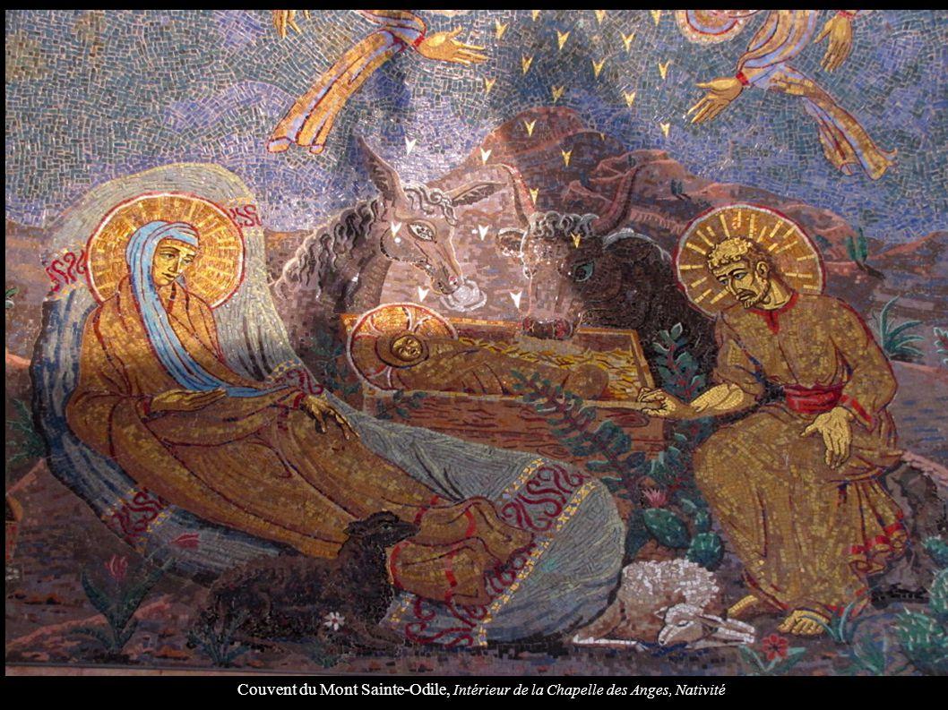 Couvent du Mont Sainte-Odile, Intérieur de la Chapelle des Anges, Nativité