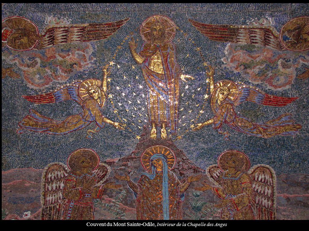 Couvent du Mont Sainte-Odile, Intérieur de la Chapelle des Anges