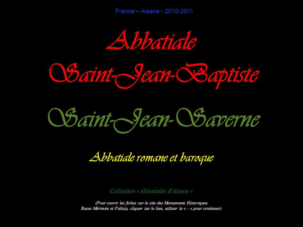 Abbatiale romane et baroque
