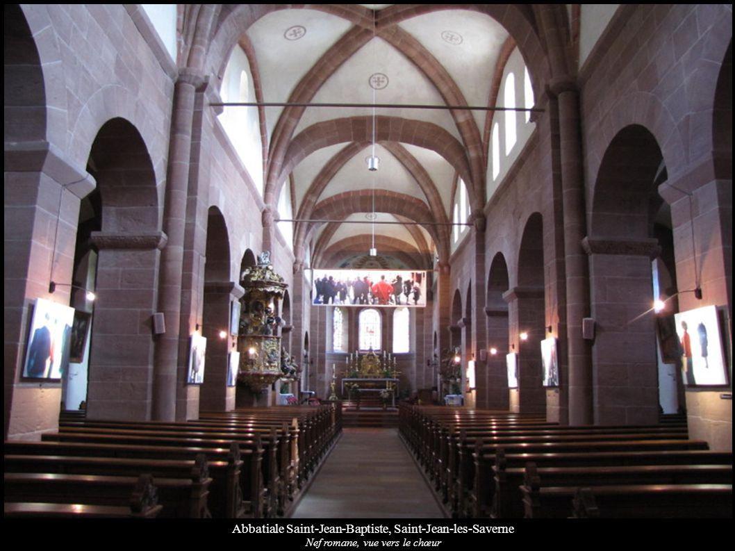 Abbatiale Saint-Jean-Baptiste, Saint-Jean-les-Saverne