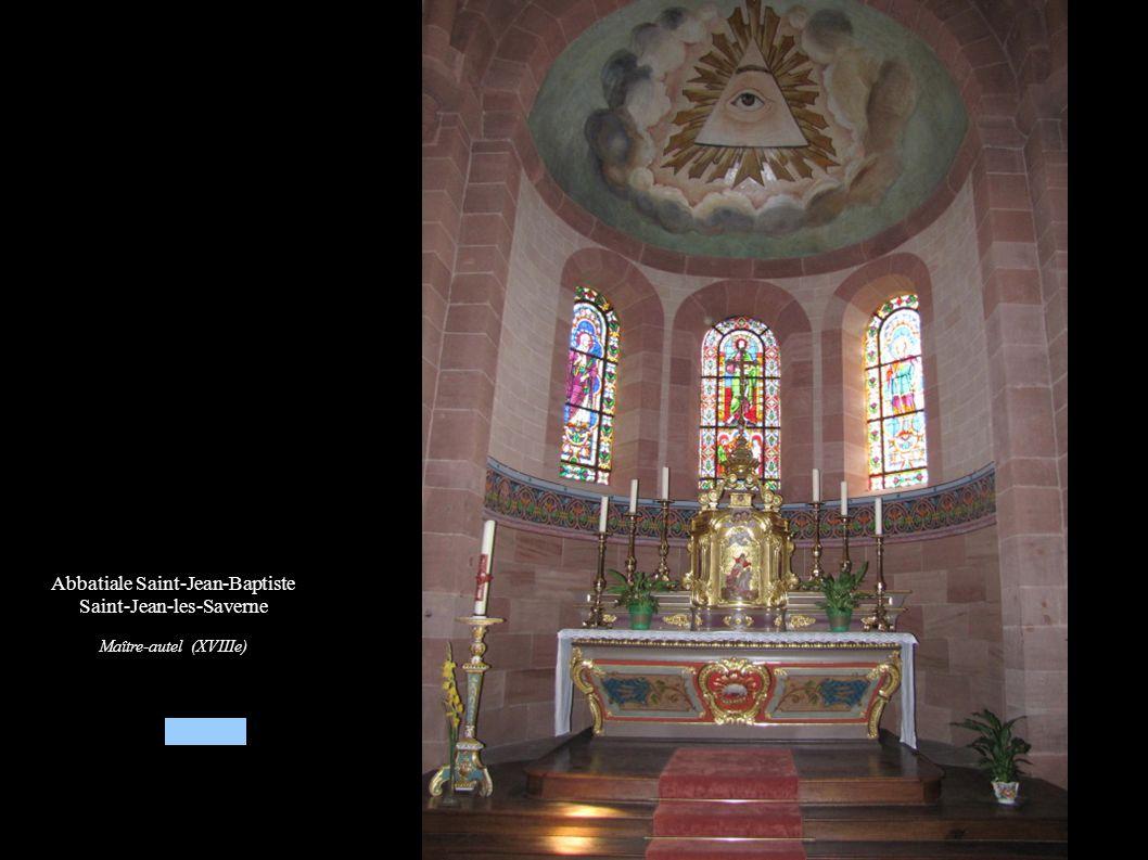 Abbatiale Saint-Jean-Baptiste Saint-Jean-les-Saverne