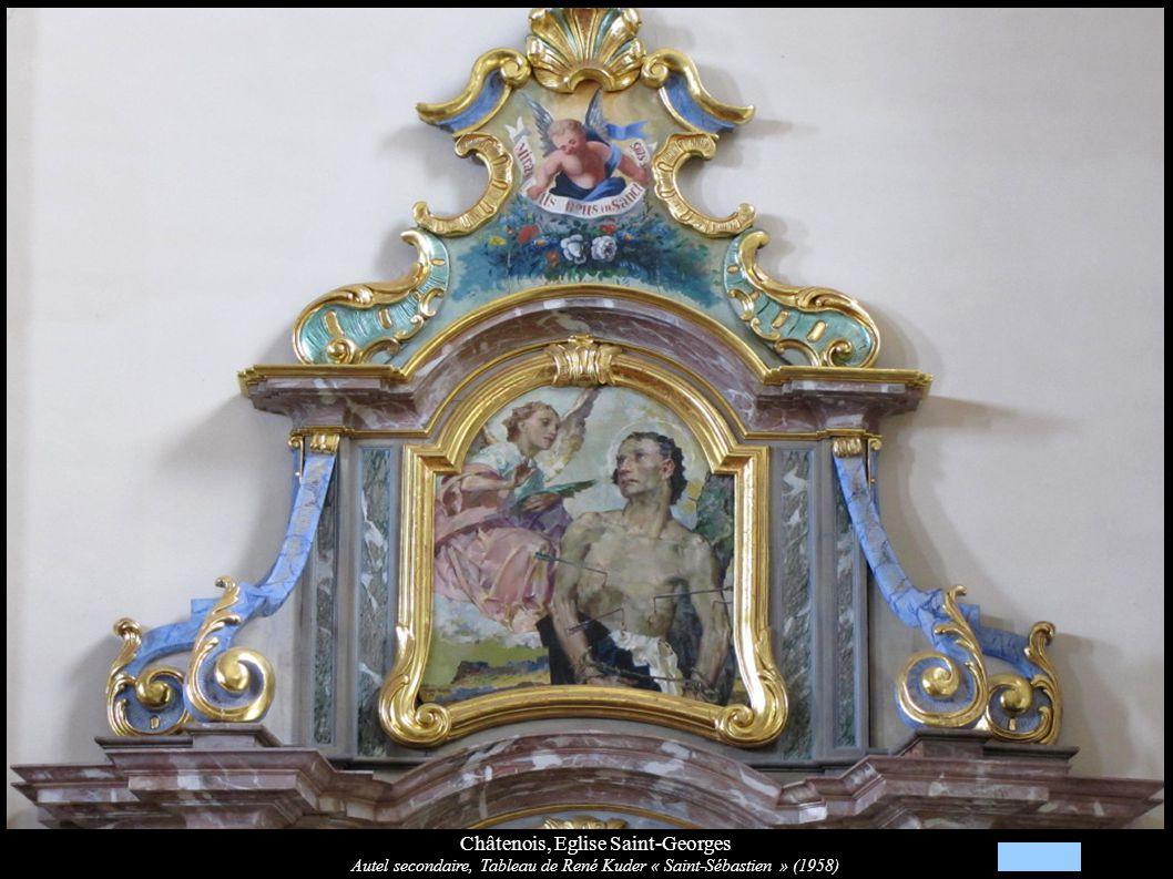 Châtenois, Eglise Saint-Georges