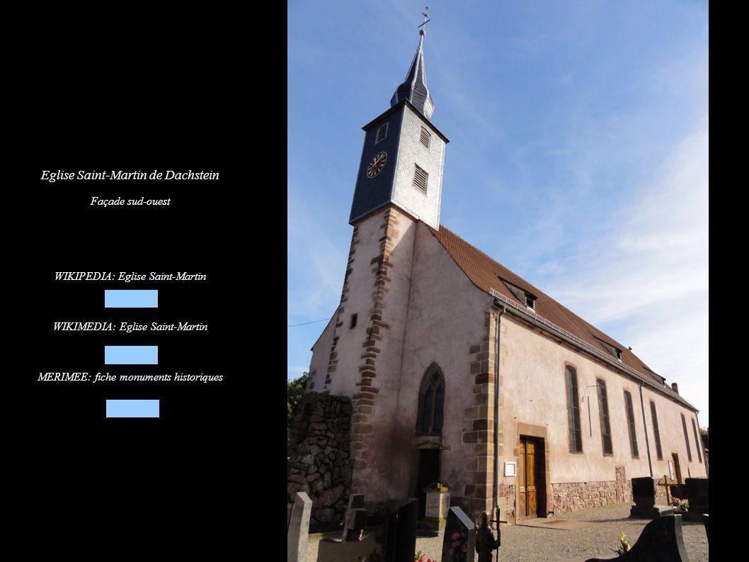 Eglise Saint-Martin de Dachstein