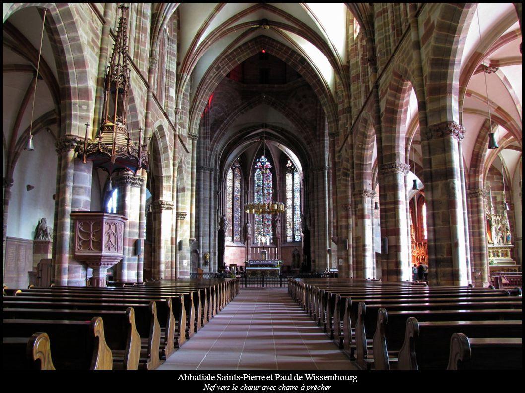 Abbatiale Saints-Pierre et Paul de Wissembourg