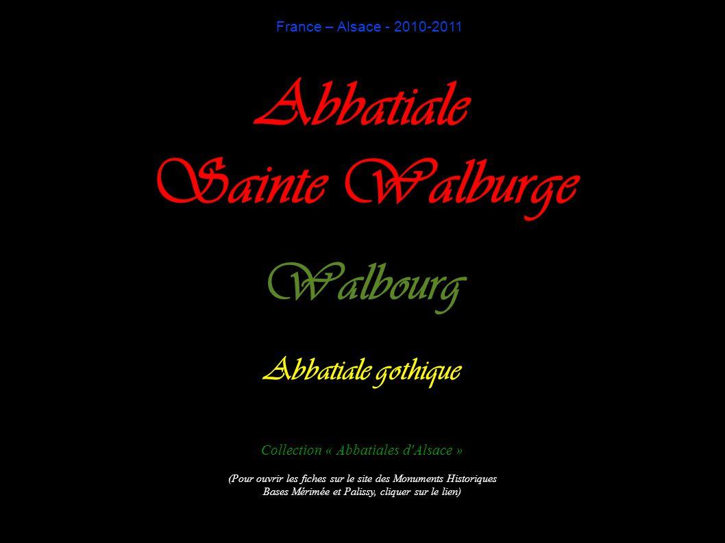 Abbatiale Sainte Walburge