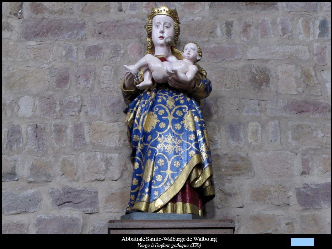 Abbatiale Sainte-Walburge de Walbourg