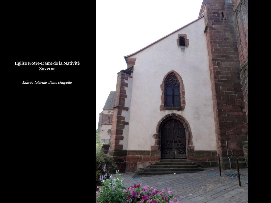 Eglise Notre-Dame de la Nativité Saverne