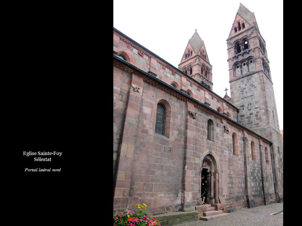 Eglise Sainte-Foy Sélestat Portail latéral nord