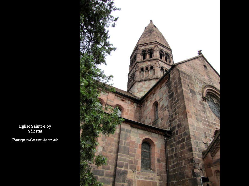 Transept sud et tour de croisée