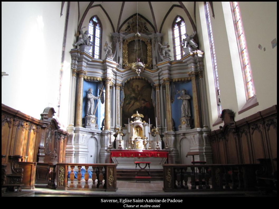 Saverne, Eglise Saint-Antoine de Padoue