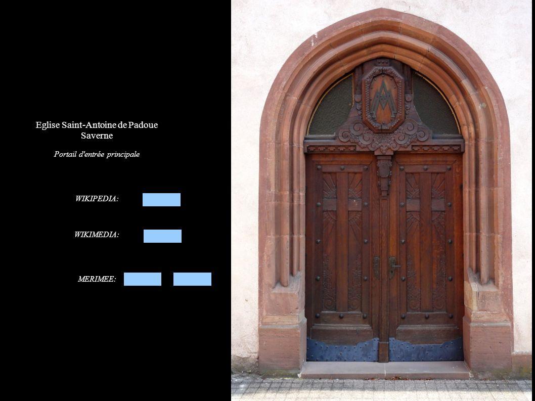 Eglise Saint-Antoine de Padoue Saverne