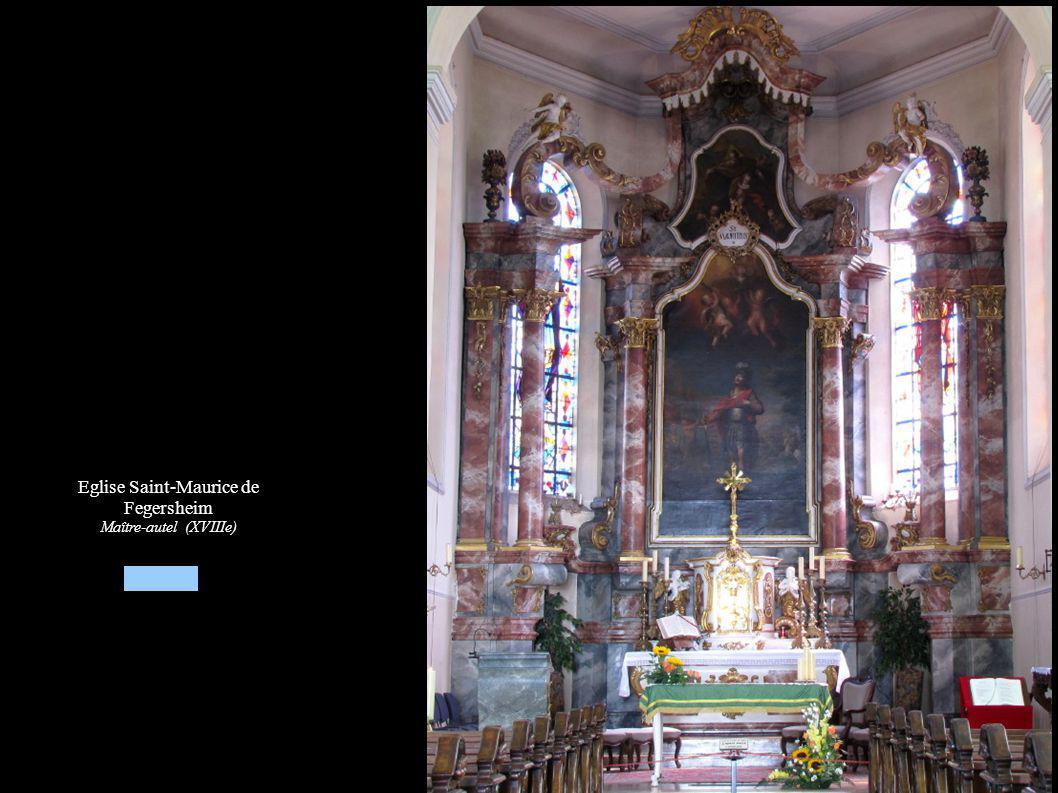 Eglise Saint-Maurice de Fegersheim