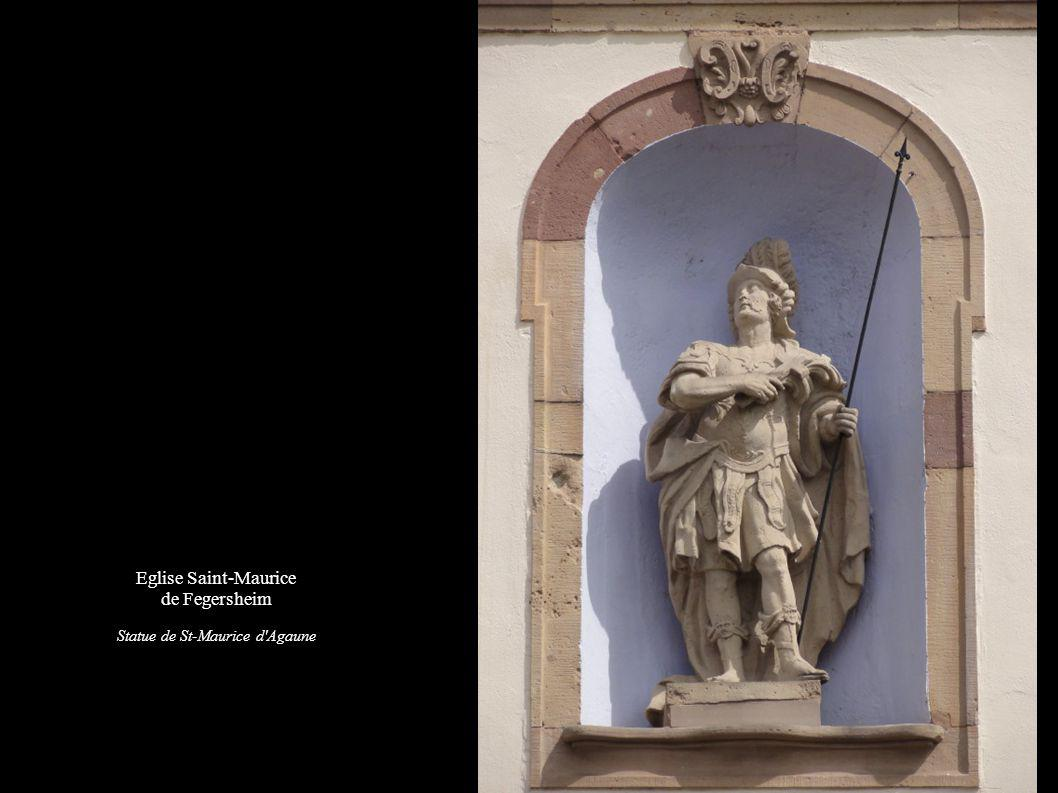 Statue de St-Maurice d Agaune