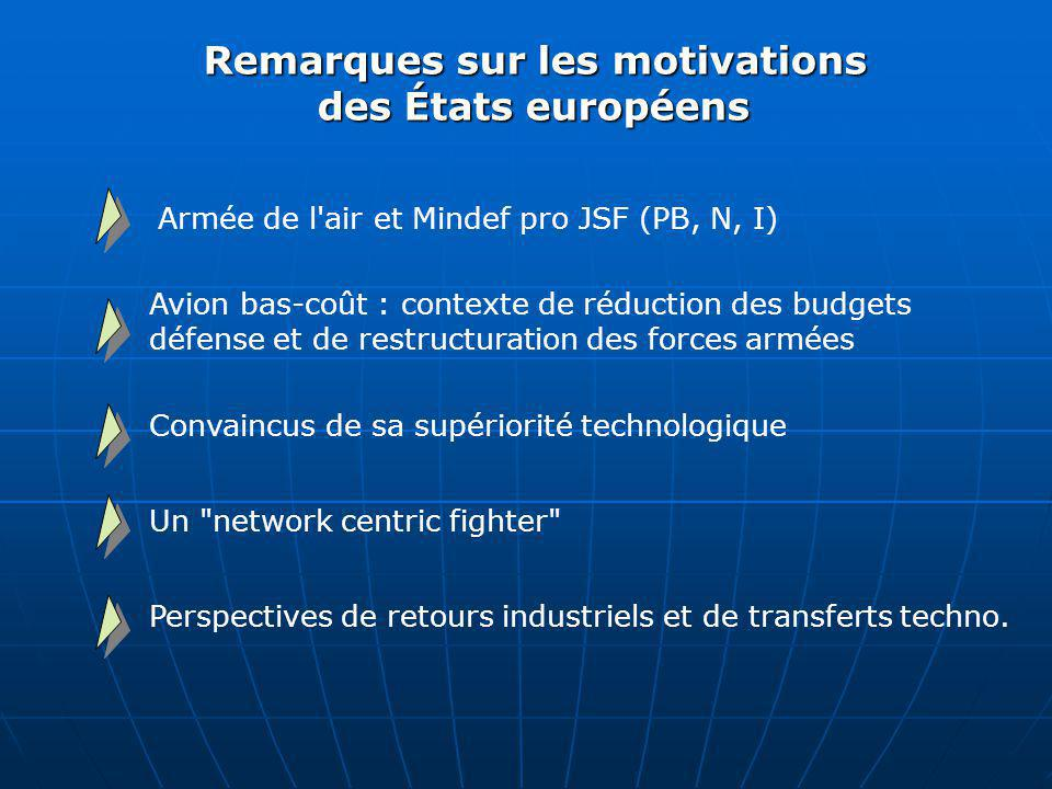 Remarques sur les motivations