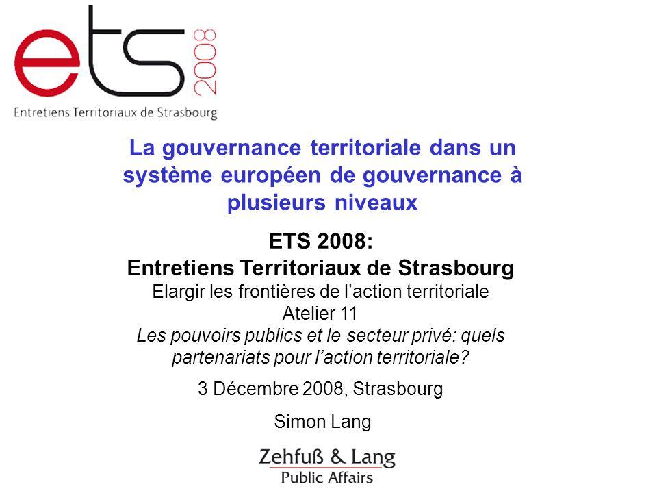 Entretiens Territoriaux de Strasbourg