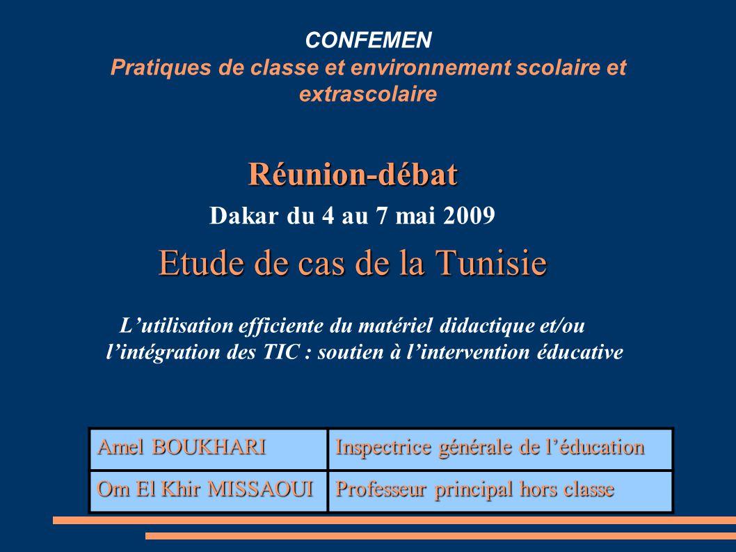 Etude de cas de la Tunisie