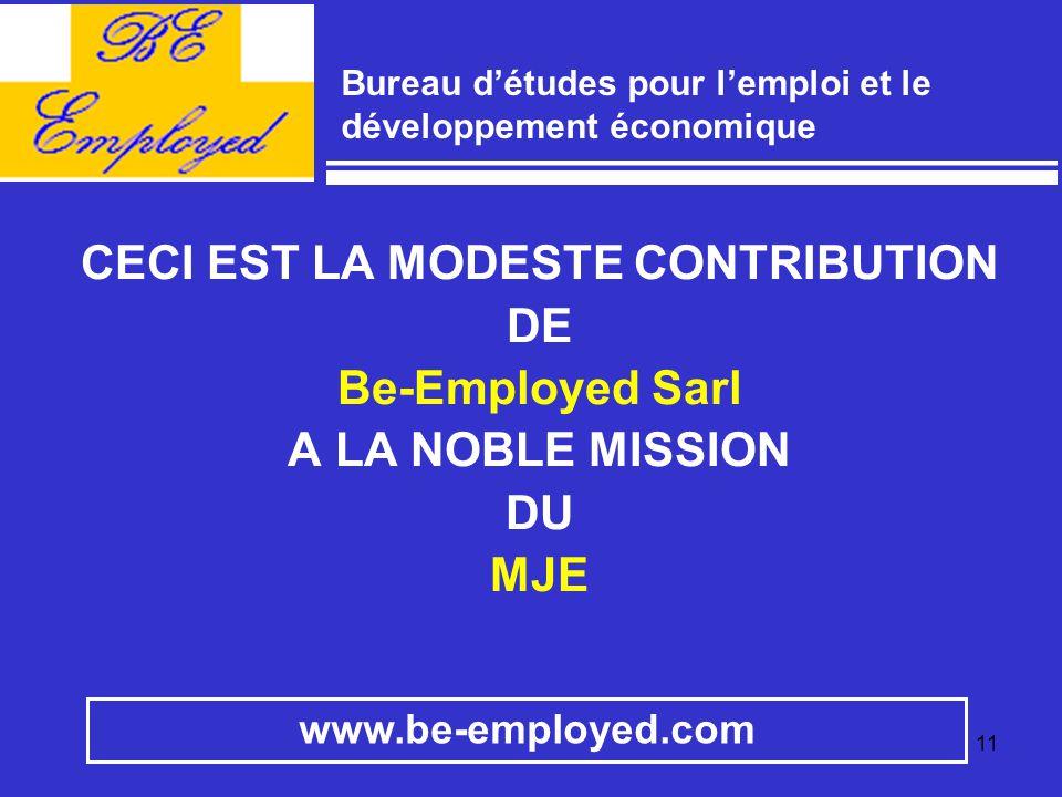 Bureau d'études pour l'emploi et le développement économique
