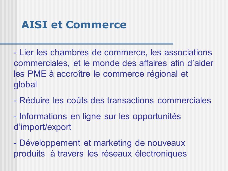 AISI et Commerce