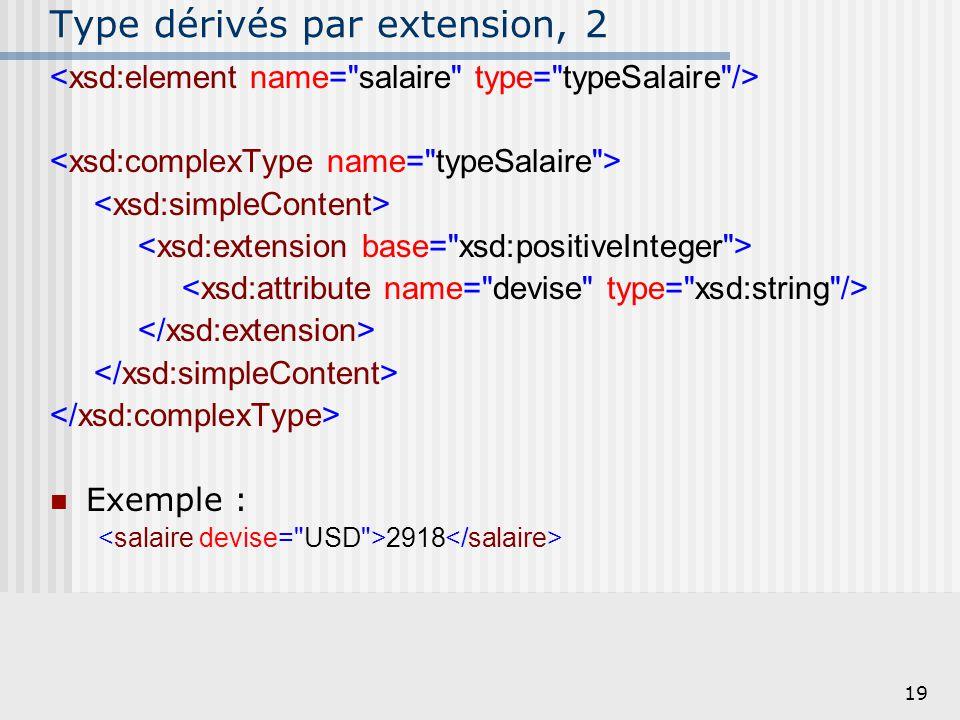 Type dérivés par extension, 2