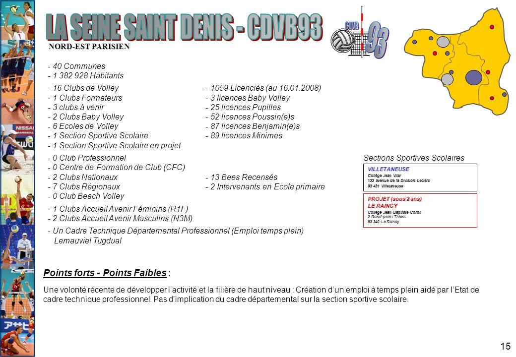 LA SEINE SAINT DENIS - CDVB93