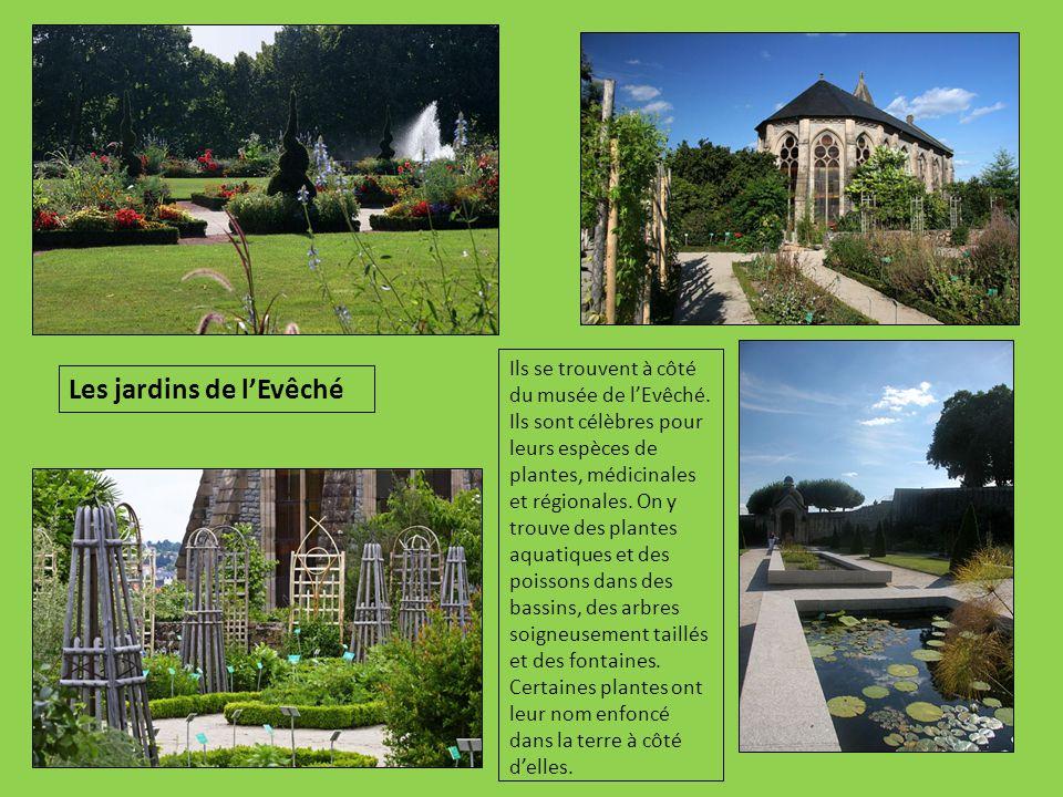 Les jardins de l'Evêché