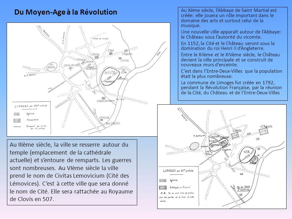 Du Moyen-Age à la Révolution