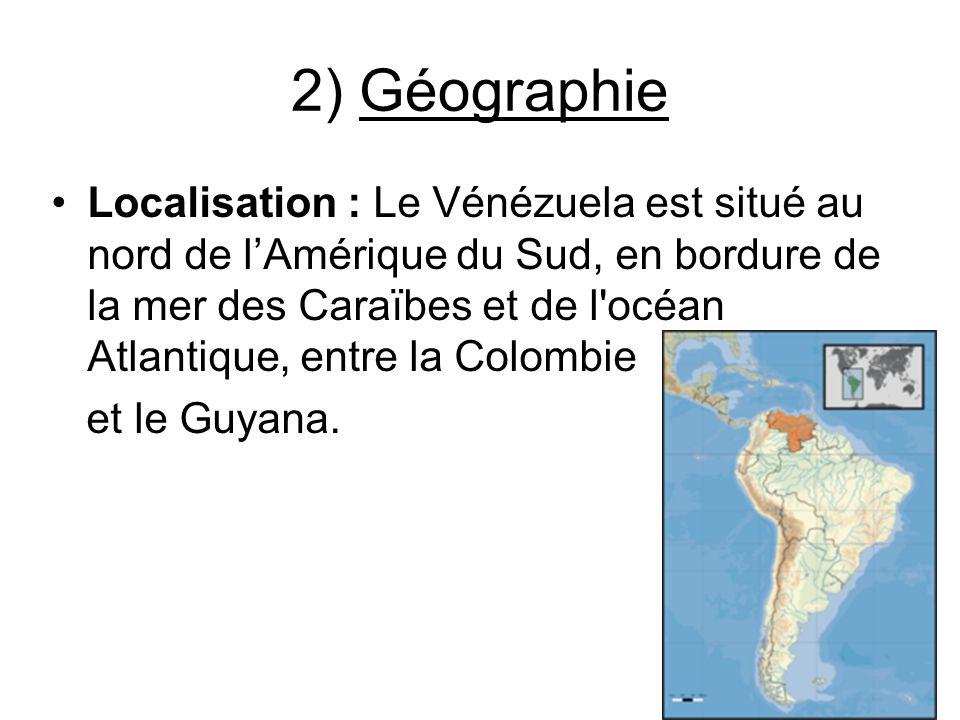 2) Géographie