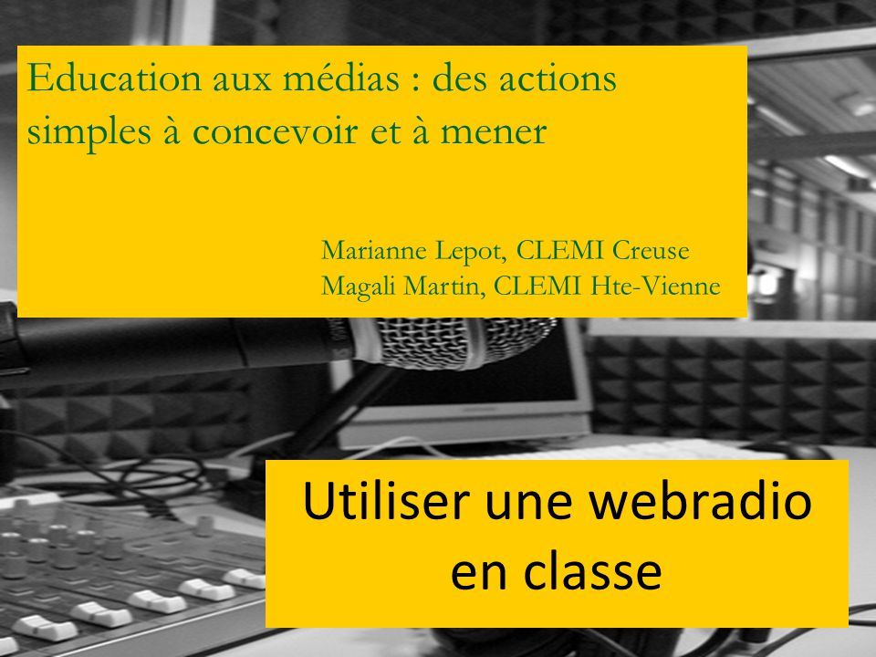 Education aux médias : des actions simples à concevoir et à mener