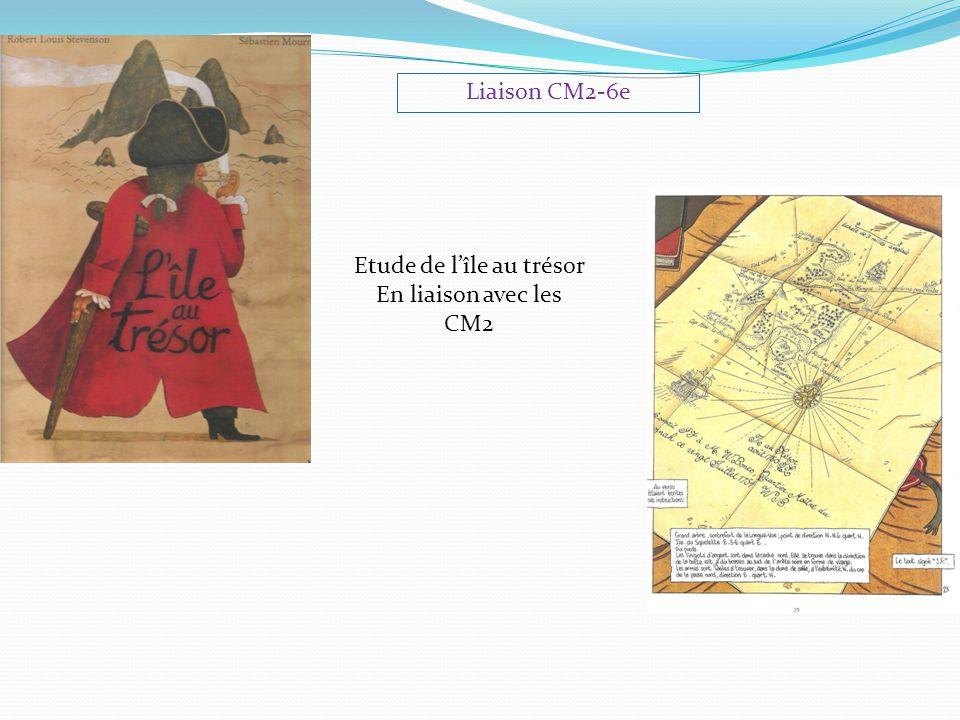 Liaison CM2-6e Etude de l'île au trésor En liaison avec les CM2