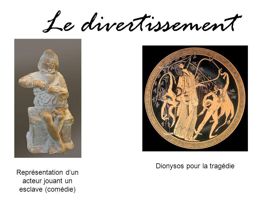 Le divertissement Dionysos pour la tragédie