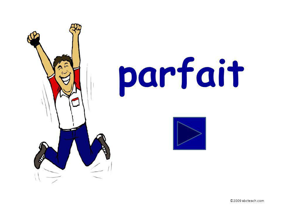parfait ©2009 abcteach.com