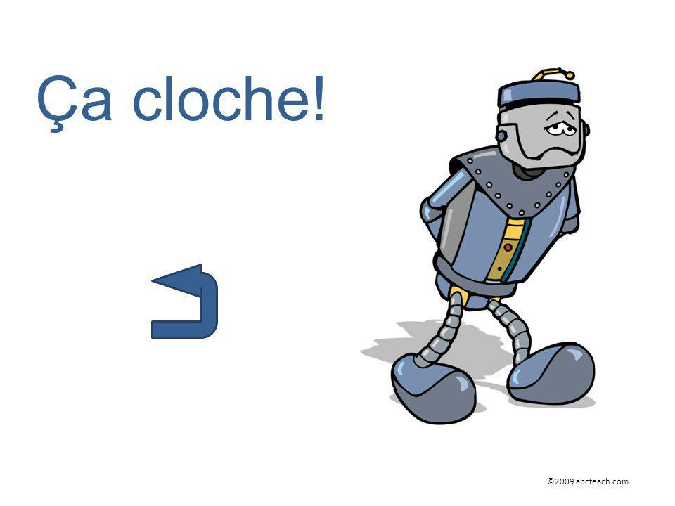 Ça cloche! ©2009 abcteach.com