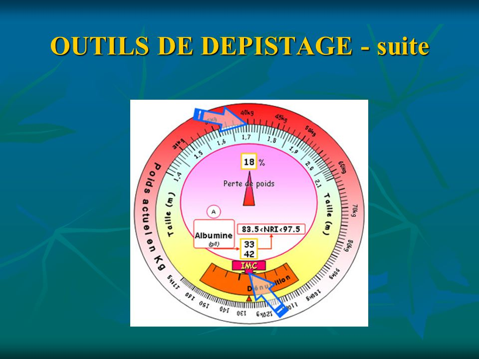 OUTILS DE DEPISTAGE - suite