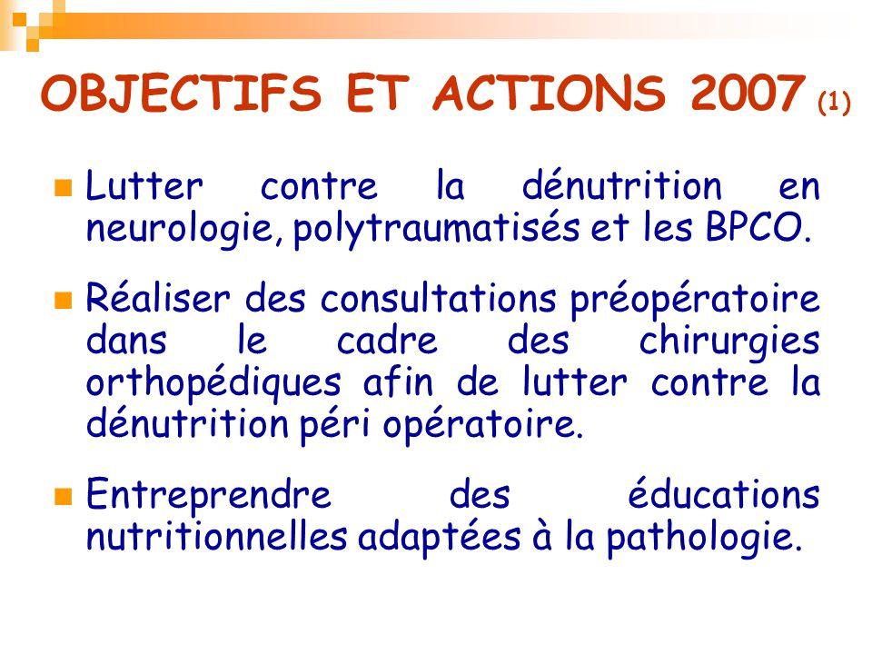 OBJECTIFS ET ACTIONS 2007 (1)