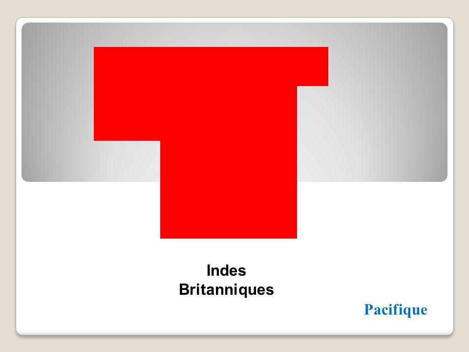 Indes Britanniques Pacifique
