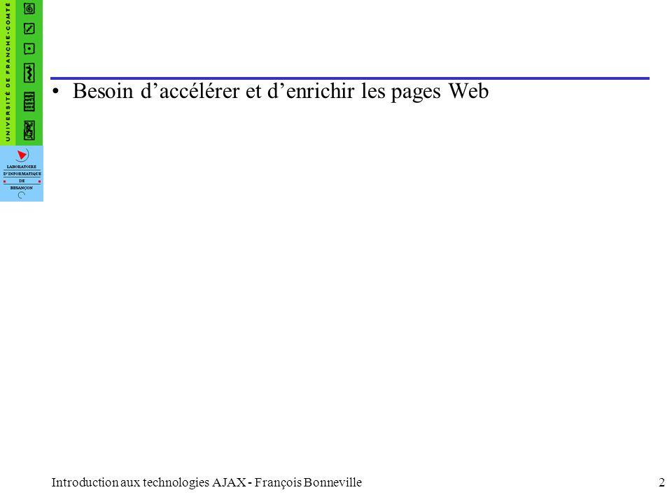Besoin d'accélérer et d'enrichir les pages Web