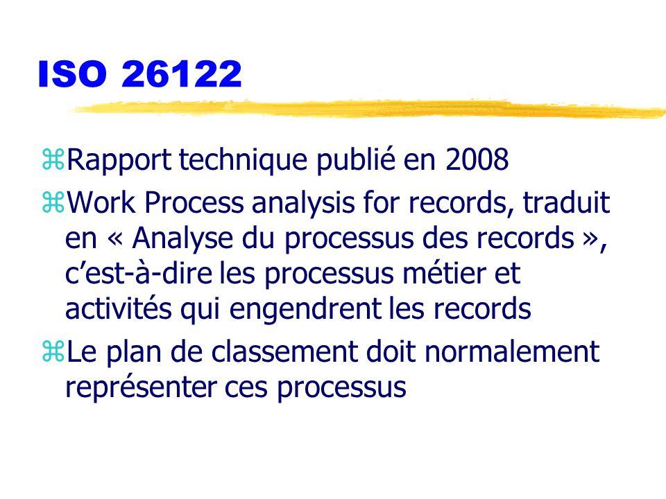 ISO 26122 Rapport technique publié en 2008
