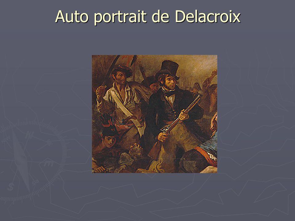 Auto portrait de Delacroix