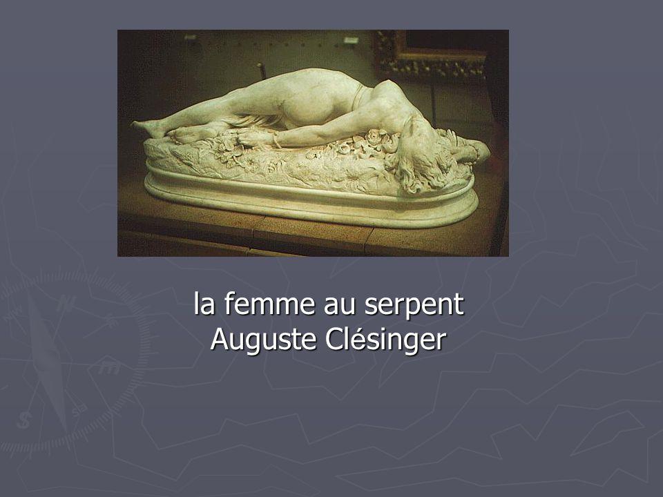 la femme au serpent Auguste Clésinger