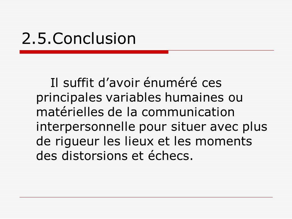 2.5.Conclusion