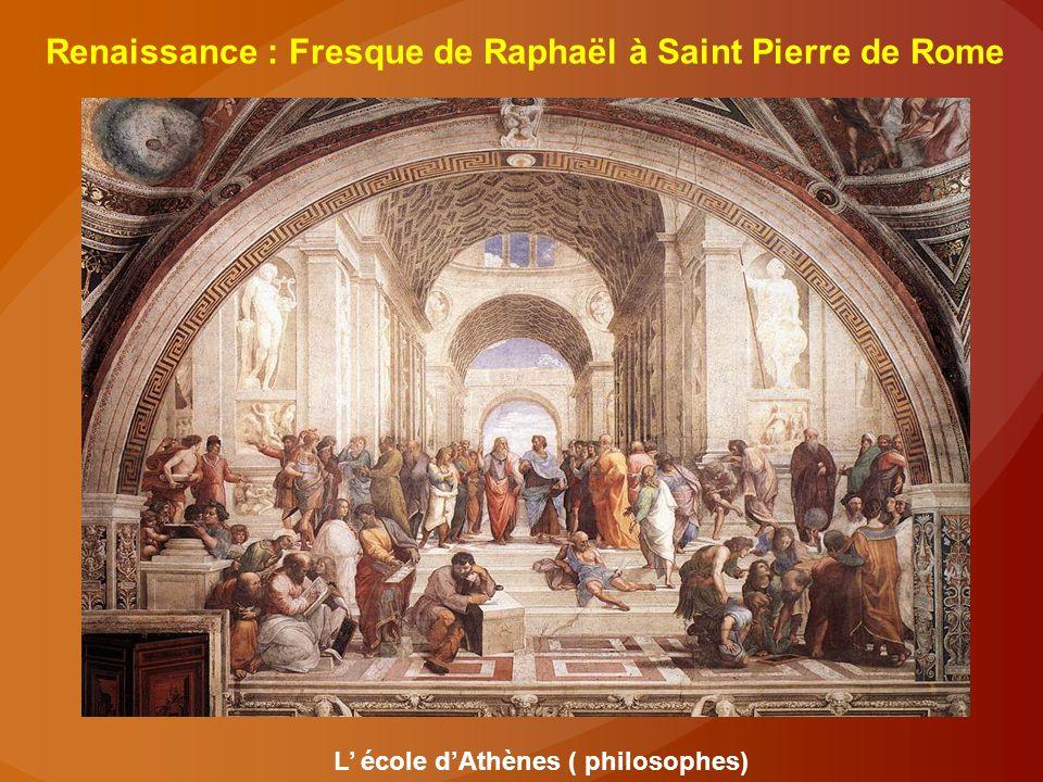 L' école d'Athènes ( philosophes)