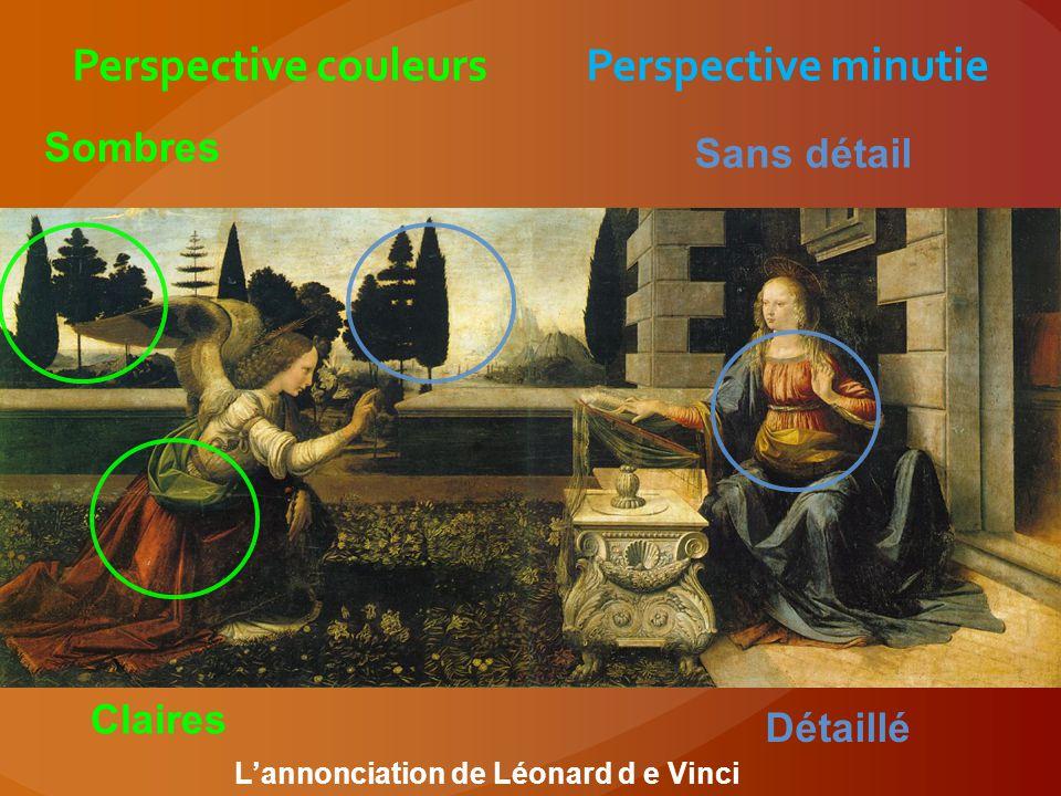 Perspective couleurs Perspective minutie