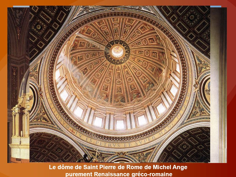 Le dôme de Saint Pierre de Rome de Michel Ange