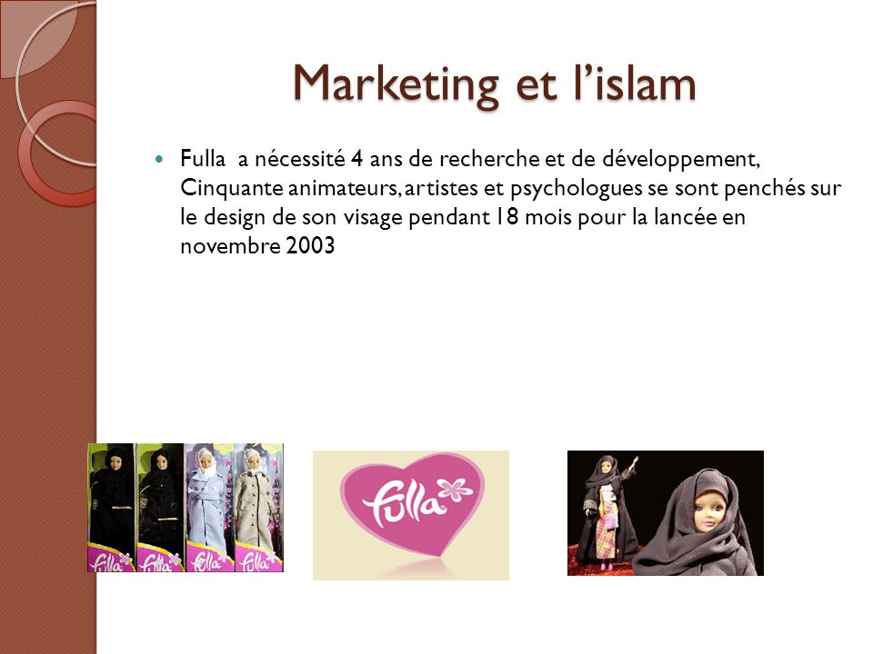 Marketing et l'islam