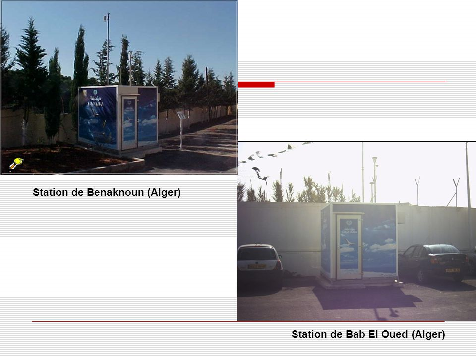 Station de Benaknoun (Alger)