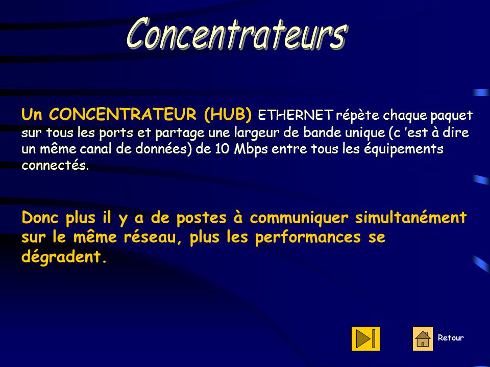 Concentrateurs