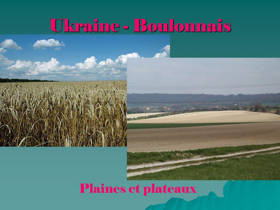 Ukraine - Boulonnais Plaines et plateaux